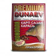 Прикормка Дунаев премиум карп сазан конопля