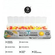 NANO Бойлы №1 FLAT-FEEDER с отверстием 9 мм Van Daf