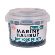 Пелетс Dynamite Baits 500гр. Marine Halibut Soft Hook Pellet 6mm & 10mm (DY436) (морской палтус)