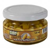 """FISHBERRY Кукуруза насадочная """"Натуральная"""" - 120 мл"""