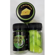 Trout Zone Plamp 60 mm Chartreuse Green Cheese / Шартрез Зелёный Сыр