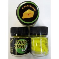 Trout Zone Palmp 25 мм Chartreuse Cheese / Шартрез Сыр