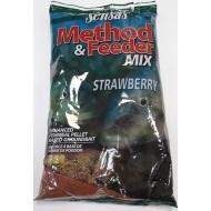 Прикормка Sensas Method & Feeder Strawberry 1 кг